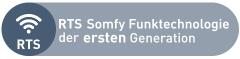 RTS Somfy Funktechnologie der ersten Generation
